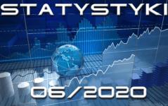 statystyki miesięczne czerwiec 2020