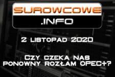 surowcowe info 2 listopad 2020