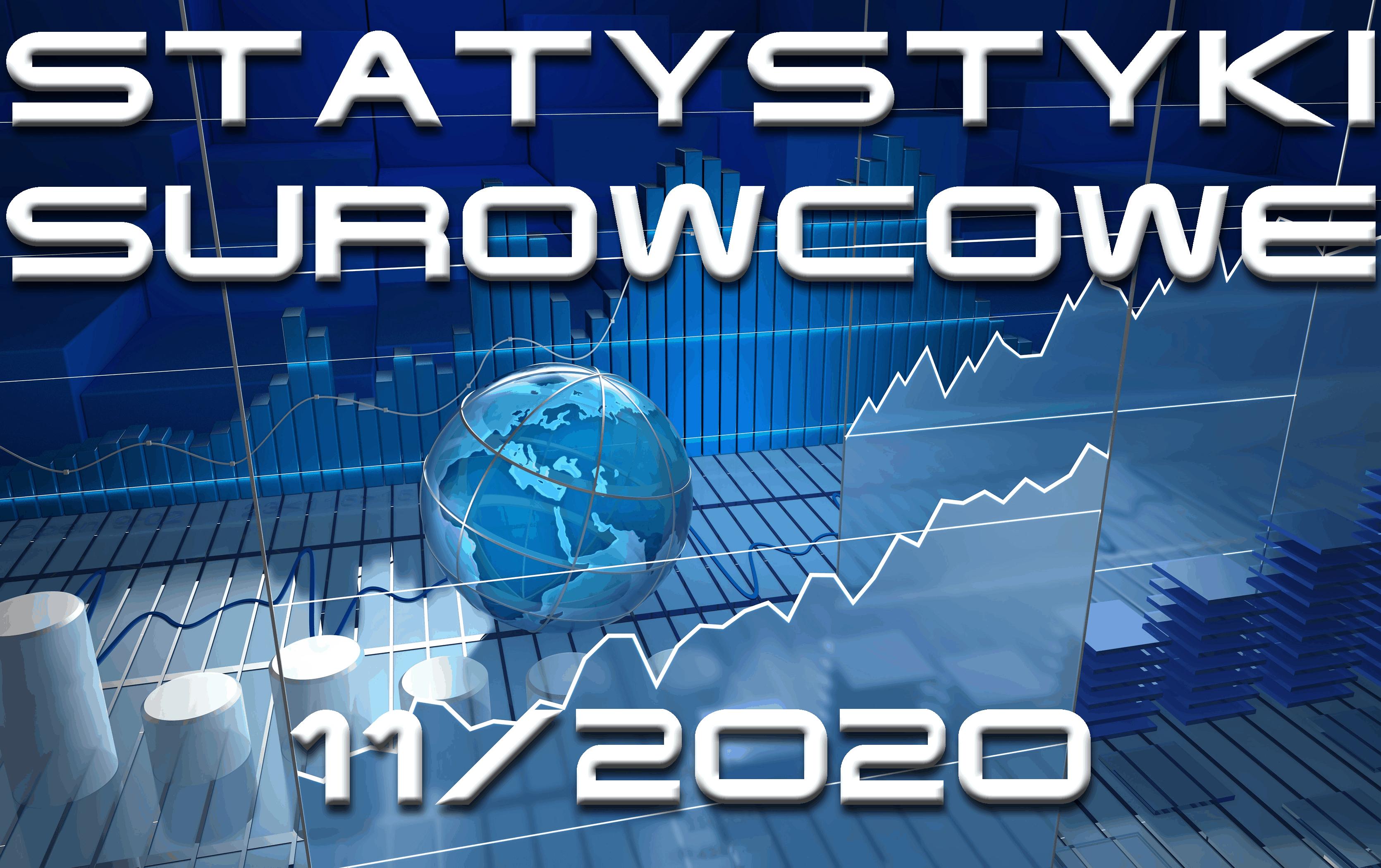 statystyki miesięczne listopad 2020