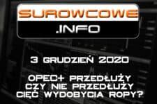 surowcowe info 3 grudzień 2020