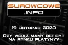 surowcowe info 19 listopad 2020