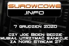surowcowe info 7 grudzień 2020
