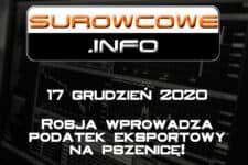 surowcowe info 17 grudzień 2020