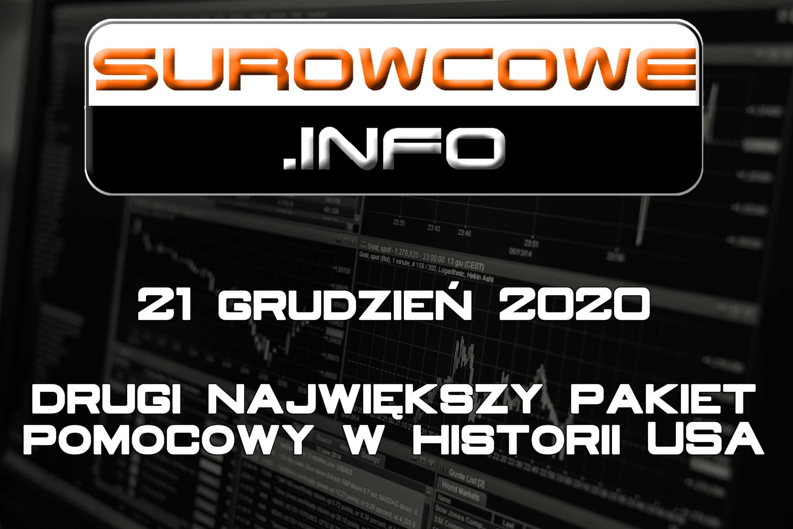 surowcowe info 21 grudzień 2020