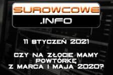 surowcowe info 11 styczeń 2021