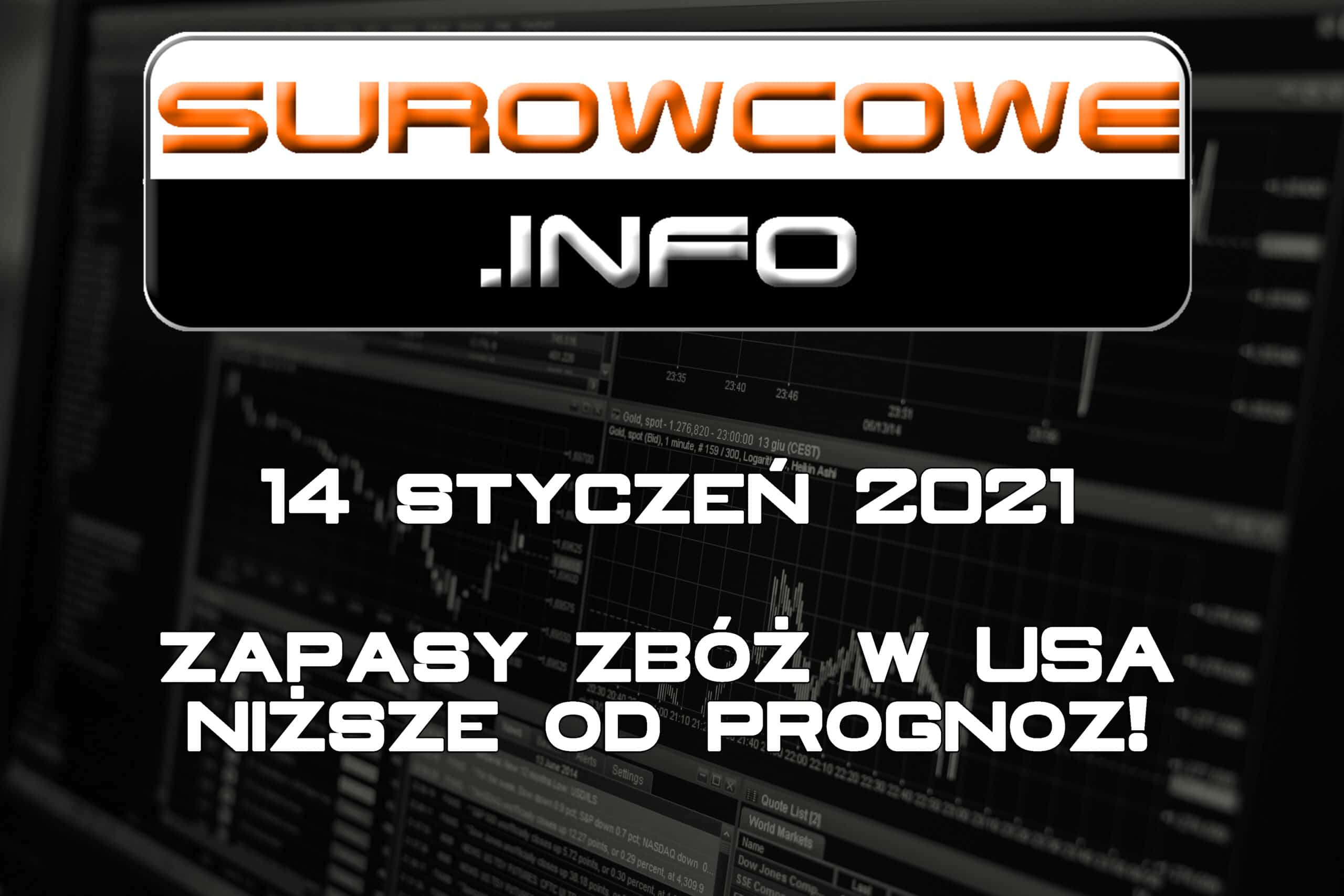 surowcowe info 14 styczeń 2021