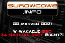 Surowcowe.info 22 marzec 2021