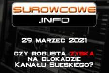 Surowcowe.info 29 marzec 2021