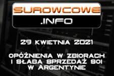 Surowcowe.info 29 kwietnia 2021