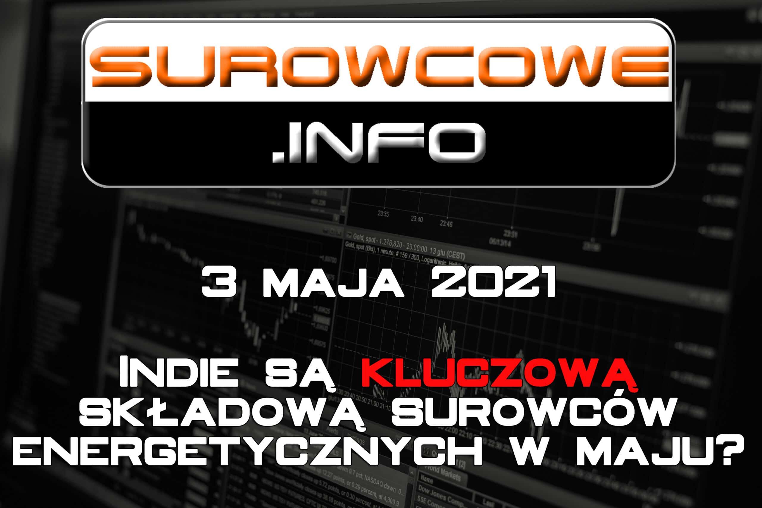 Surowcowe.info 3 maja 2021